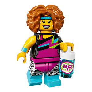 Lego Series 17 Dance Instructor