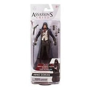McFarlane-Toys-Assassin-039-s-Creed-Unity-Arno-Dorian-Action-Figure-NEW-PACKAGE