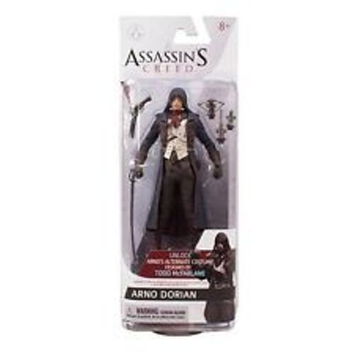 McFarlane Toys Assassin/'s Creed Unity Arno Dorian Action Figure-NUOVO pacchetto!!!
