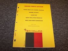 Ford 363 CID Diesel Engine Model 2704E Factory Original Parts Catalog Manual