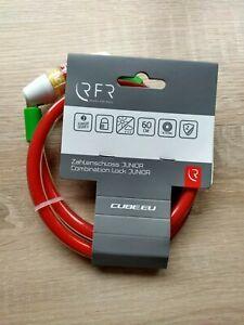 NEU Cube RFR Spiral-Zahlenschloss Junior Fahrradschloss - Kulmbach, Deutschland - NEU Cube RFR Spiral-Zahlenschloss Junior Fahrradschloss - Kulmbach, Deutschland