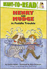Henry and Mudge in Puddle Trouble by Cynthia Rylant (Hardback, 1996)