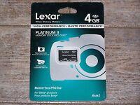 Lexar 4gb Platinum Ii Memory Stick Pro Duo Memory Card Mark 2