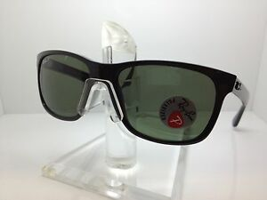 076714f473 AUTHENTIC RAYBAN RB 4181 601 9A 58MM RAY BAN RB4181 601 9A BLACK ...