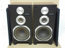 Rare Vintage Technics SB-3030 3 Way Main Stereo HiFi Speakers - Made in Japan