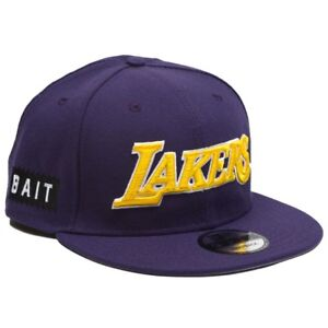 3f83ae5e9d2c BAIT x NBA X New Era 9Fifty Los Angeles Lakers Alt OTC Snapback Cap ...