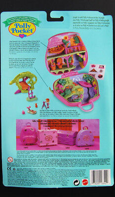 Mini Polly Pocket Jungle Adventure Dschungel Koffer New Unopend Quality And Quantity Assured Puppen Puppen & Zubehör