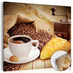 NEU! ACRYLGLASBILDER Bild Deko Glas Glasbild KAFFEE KÜCHE COFFEE j-C ...