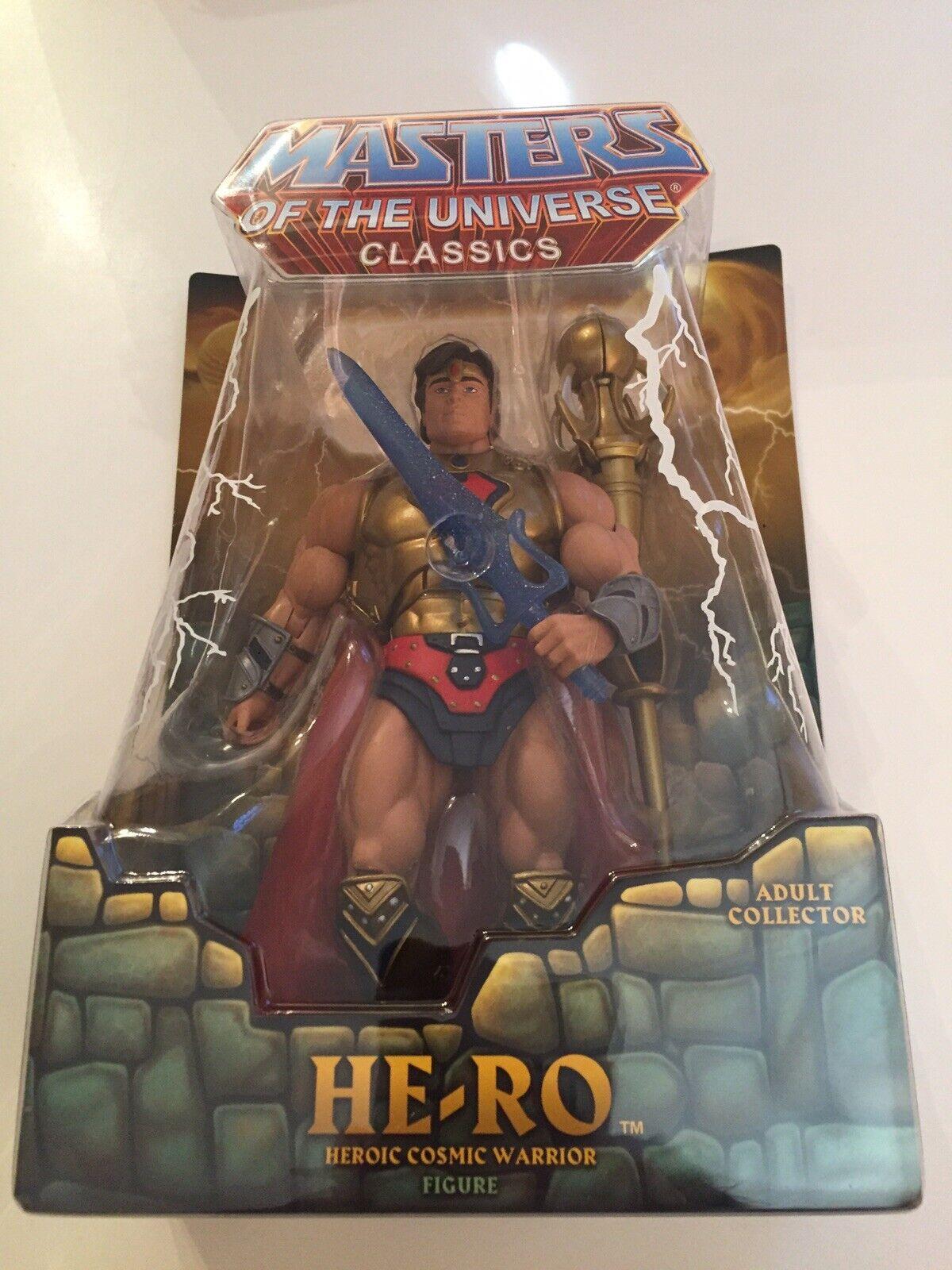 Masters Of The Universe classeeics HE-RO  primero release 2008 MOC MOTUC HE-uomo  prezzo basso