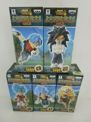 Dragon Ball Heores World Collectable Figure WCF Treasure Rally II 5 type F//S A