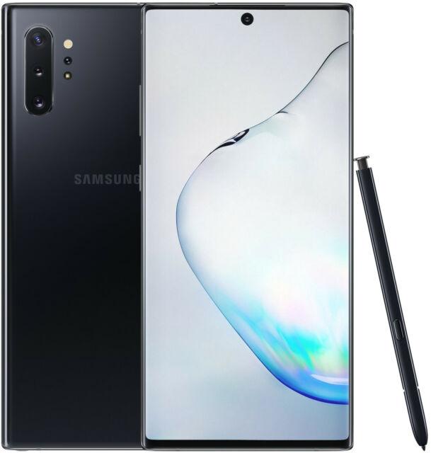 Samsung Galaxy Note 10 Plus 5G N976B 256GB Single Sim Aura Black, Nuevo Especial