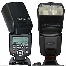 Yongnuo YN-560 III Flash with built-in RF-602, RF-603 Receiver  for Canon Nikon
