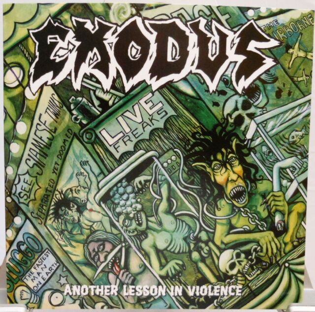 EXODUS + CD + Another Lesson In Violence + LIVE + Thrash Metal + Special Edition
