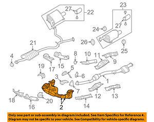 subaru oem 06 07 legacy 2 5l h4 exhaust system crossover pipe rh ebay com Mazda CX-5 2.5L Engine