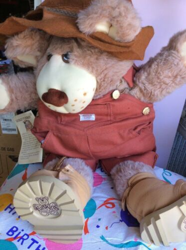 Vintage Furskin by Xavier Robert Farrell Post Master Bear with Tags B10