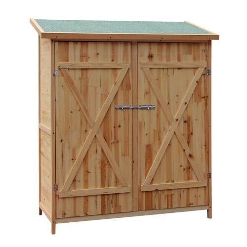 XXL bois cabane à outils Cabane Jardin armoire armoire périphériques Cabane de jardin