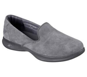 Slipper Grey Go Skechers Step On Sneakers New Women Indulge Slip Lite PtvqUx