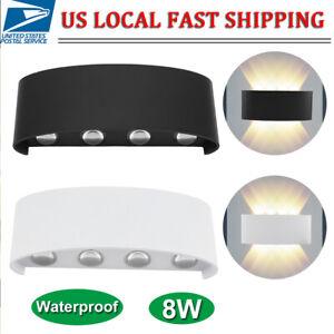 8W-LED-Wall-Hanger-Light-Sconce-Up-Down-Lamp-Indoor-Outdoor-Hallway-Waterproof