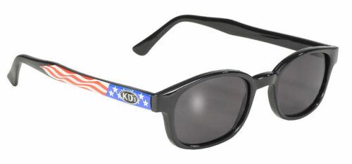 KDs SAMCRO Smoke USA Flag Sunglasses Sons of Anarchy W Pouch 20050