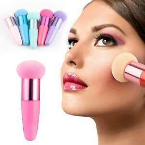 Soft-Makeup-Foundation-Sponge-Blending-Puff-Powder-Smooth-Handle-Brush-Simple