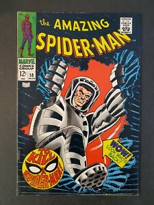 AMAZING-SPIDER-MAN-58-5-5-FN-UNPRESSED-MARVEL-SILVER-COMIC