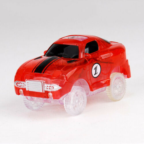 Electronics Special Car for Magic Track Toys With Flashing Lights Educational`