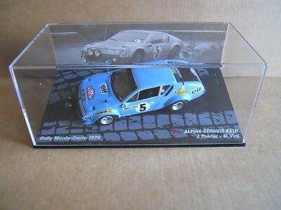 MK Rally Model Car SEAT 1430 SPECIAL 1800 S.Servia Monte Carlo 1977 IXO 1:43