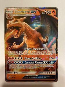Charizard GX SM195 Ultra Rare Holo Pokemon Detective Pikachu Black Star Promo NM