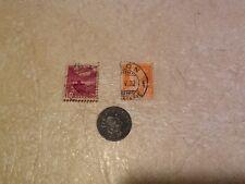 Coin Nazi World War 2 Switzerland 2R 1944  2 stamps 1937 lot