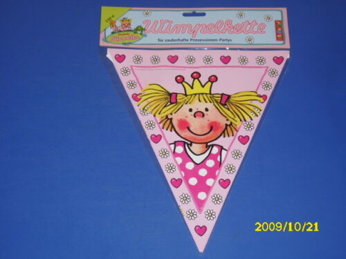 Prinzessin Kindergeburtstag Partyartikel Teller Becher Servietten Kerzen