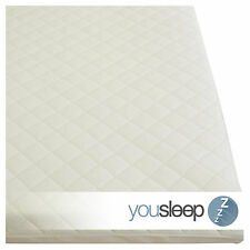 Premium Cot Bed Mattress Baby Toddler Foam Mattress Quilted Cover Size 140x70x10