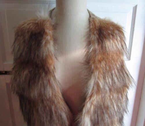 à vegan paupières fourrure faux pour tricoté Ombre cardigan en 8qnw6a8dF