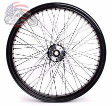 Black 26 3.5 60 Spoke Front Wheel Rim 2000-2007 Harley Touring Dual Disc Bagger