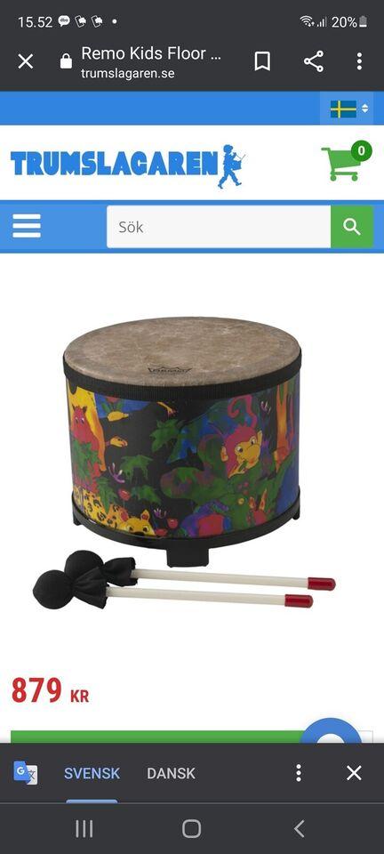 Andet legetøj, Instrument, REMO Kids Floor Tom