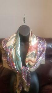 Huali-vintage-100-silk-scarf-multicolor-rolled-edge-wrap-shawl-large