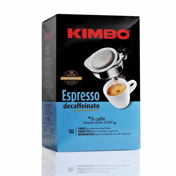 108 Coffee Pods Kimbo Espresso NAPOLETANO Decaffeinated