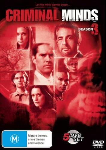 1 of 1 - CRIMINAL MINDS SEASON 3 : NEW DVD