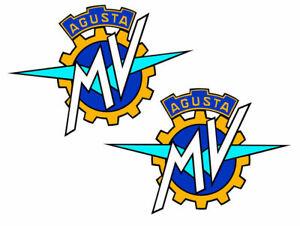 2-PVC-Vinyle-Autocollants-MV-Agusta-F4-Brutale-Stickers-Voiture-Auto-Moto-Casque