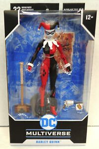 "McFarlane Toys DC Multiverse HARLEY QUINN Loose 7/"" Action Figure 2020"