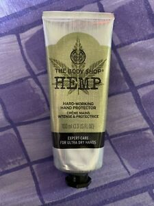 Details about Hemp Hand Protector Cream The Body Shop Intense Moisturiser 30ml New Vegetarian