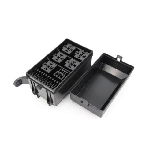 6 Ways Auto fuse box assembly With terminals and fuse Auto Relays Box