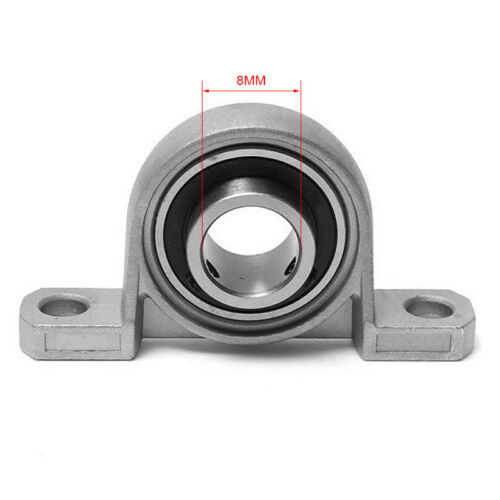 1PC 8//10//12////20mm Bore Diameter Mounted Bearings Ball Bearing Pillow Block