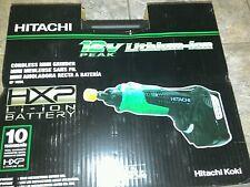 Hitachi 12v Lithium-ion Cordless Mini Grinder Rotary Tool Kit w/ Hard Case