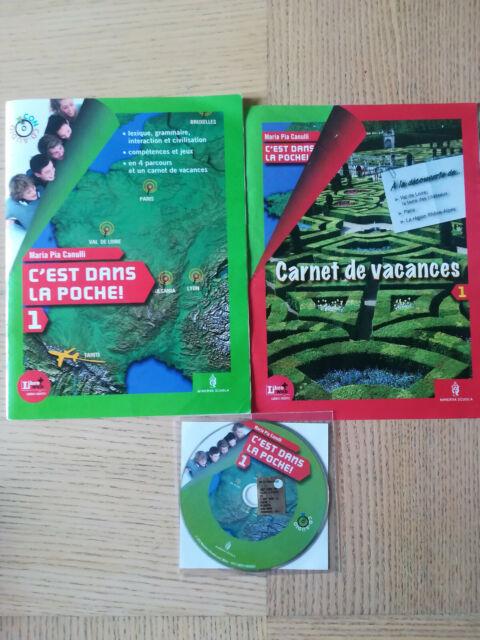 C'EST DANS LA POCHE! 1  MEDIA M.P CANULLI +CARNET+ CD ISBN 9788829836567