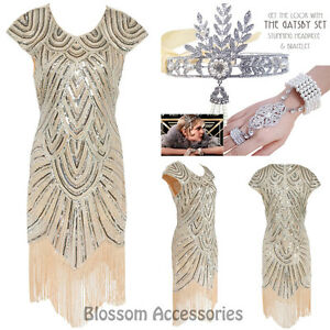 K226-Ladies-1920s-Roaring-20s-Flapper-Costume-Sequin-Pearls-Outfit-Fancy-Dress