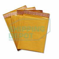 "200 #0 6x10 Kraft Bubble Mailers Self Seal Padded Envelopes 6""x10"" Secure Seal"