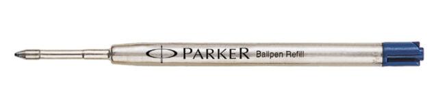 Parker Ball Pen Refill Ball Point Pen Refill , Fine Nib 0.8mm Blue Ink New