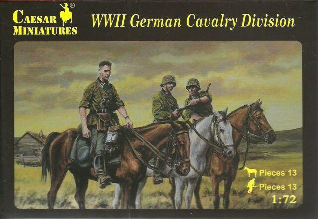 Caesar Miniatures 1/72 WW2 Alemán Caballería Division