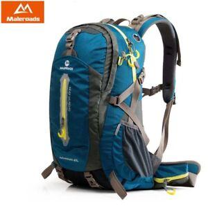 Maleroads 40L/50L Rucksack Camping Hiking Sports Bag Outdoor Travel Backpack USA