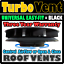 Van-Roof-Mounted-Spinning-Rotary-Wind-Powered-Air-Fan-Vent-Ventilator-BLACK-LDV miniatura 1